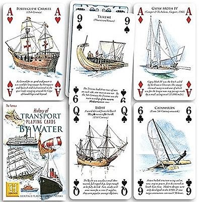 Water Playing Cards