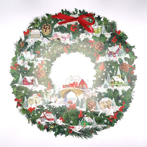 Christmas Wreath Advent Calendar