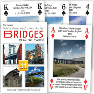 Bridges Playing Cards