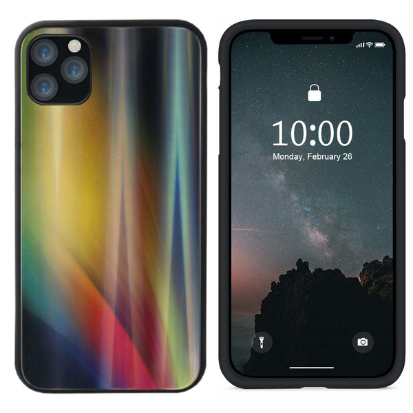 Aurora glass iphone 11 pro max (6.5) geel
