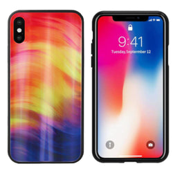 Aurora glass iphone xs max paars