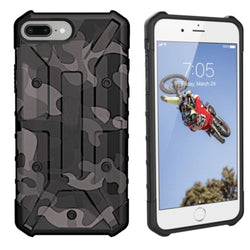 Shockproof army iphone plus/7 plus/6 plus zwart