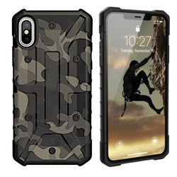 Shockproof army iphone xs max groen