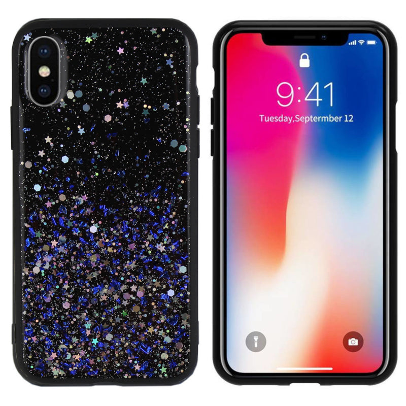 Spark iphone xs max blauw