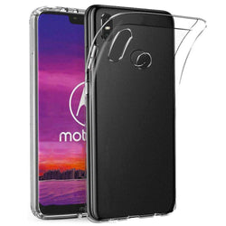 Coolskin3t motorola one transparant wit