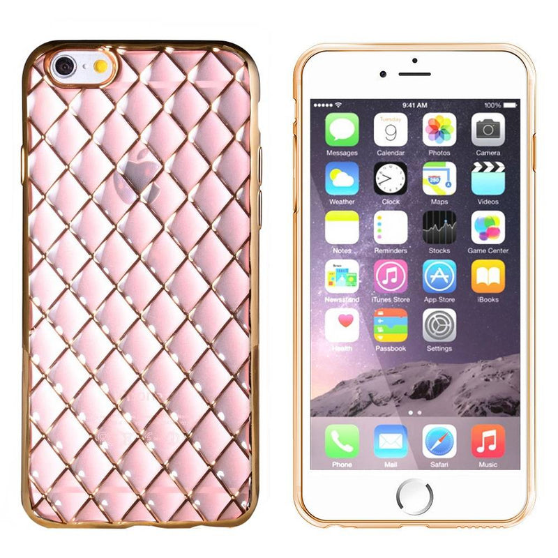 Diamond iphone 6 plus/6s plus goud roze