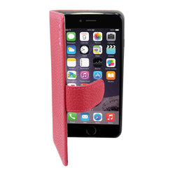 Leather5 iphone 6 plus/6s plus klassiek d.roze