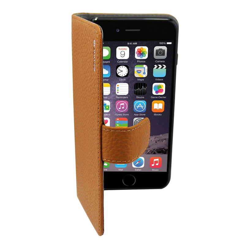 Leather5 iphone 6 plus/6s plus klassiek bruin