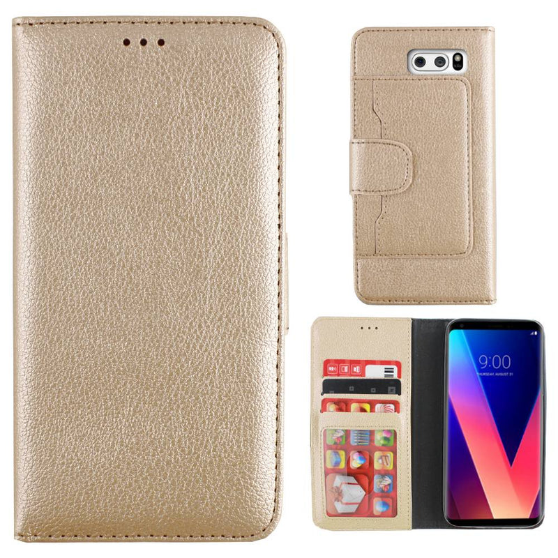 Wallet case v30 goud