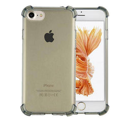 Shockproof tpu 1.5mm iphone 5/5s transparant zwart