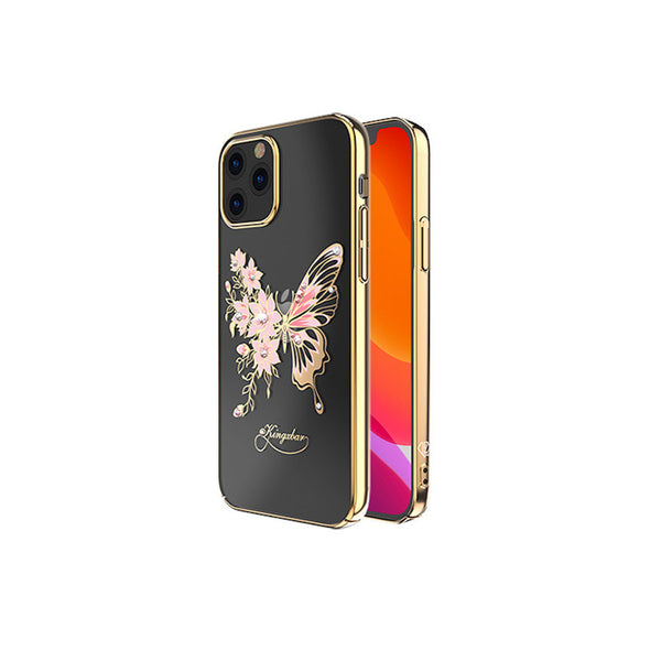 Butterfly Telefoon hoesje iPhone 12 mini Goud