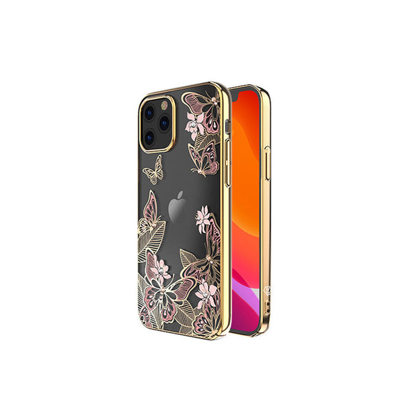 Butterfly Telefoon hoesje iPhone 12 mini Roze