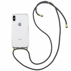 Shockproof koord iphone xs max transparant