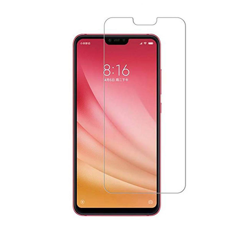 Glass mi 8 lite transparant