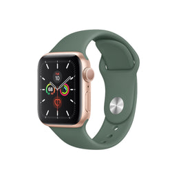 Silicon bandje 38/40 mm apple watch groen
