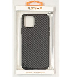 Xssive back cover carbon print apple iphone - zwart
