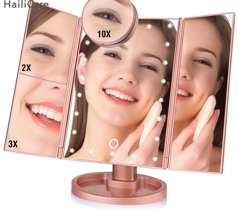 SAYA | Tri Fold Led Mirror
