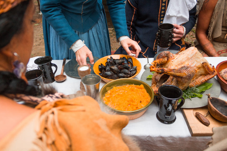 A Pilgrim at Thanksgiving: Online Experience