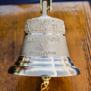 Limited Edition Bronze Mayflower Tribute Bell