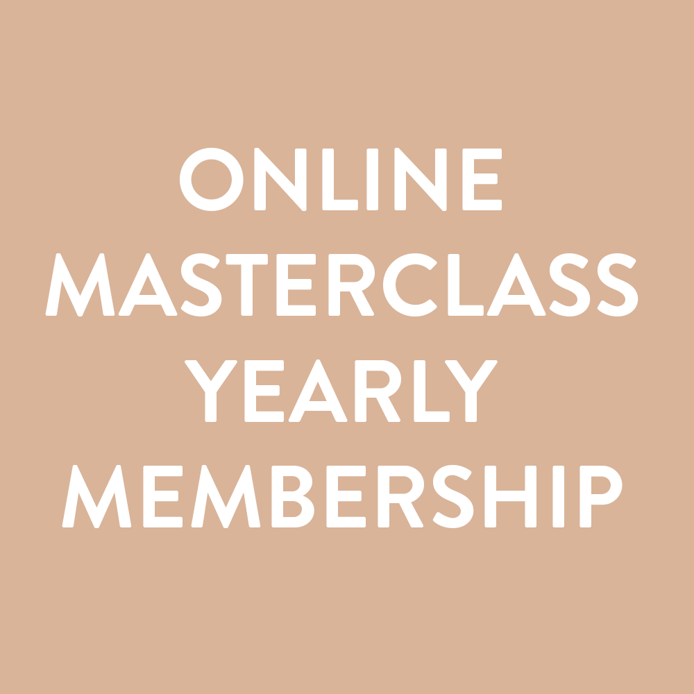 ONLINE MASTERCLASS: Yearly Membership
