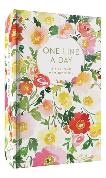 One Line A Day Floral Pattern