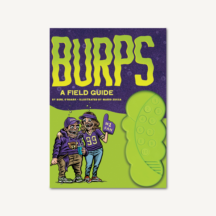 Burps: A Field Guide Book