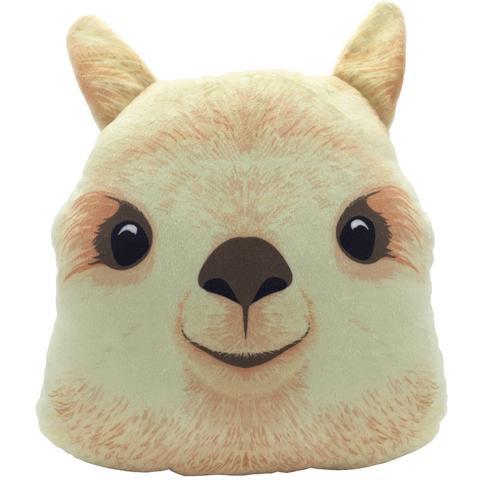 Alpaca Animal Pillow
