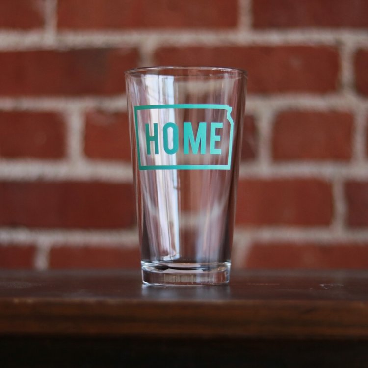 HOME Pint Glass