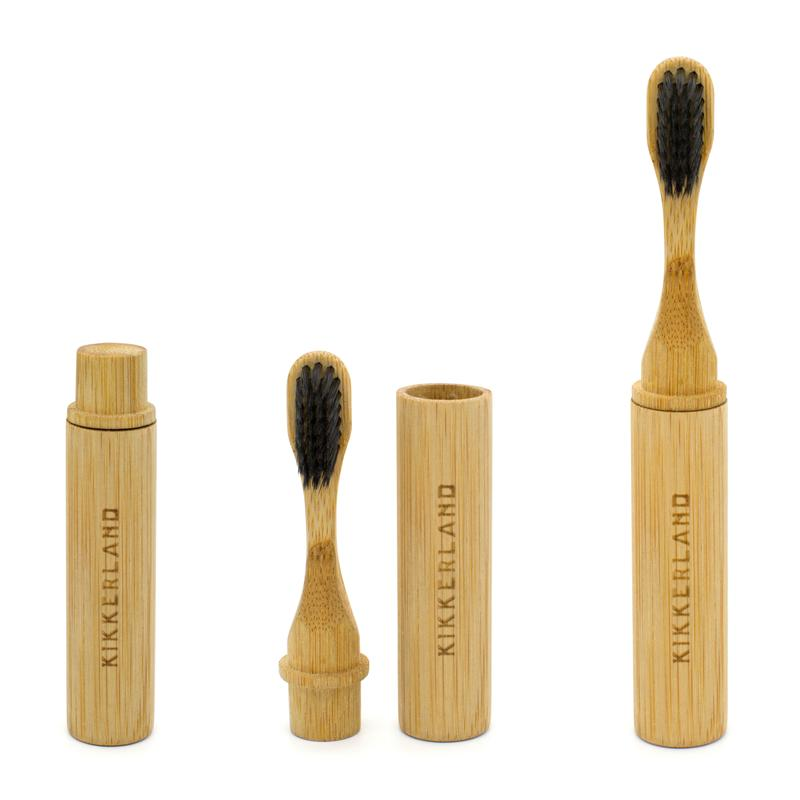 On-The-Go Bamboo Toothbrush