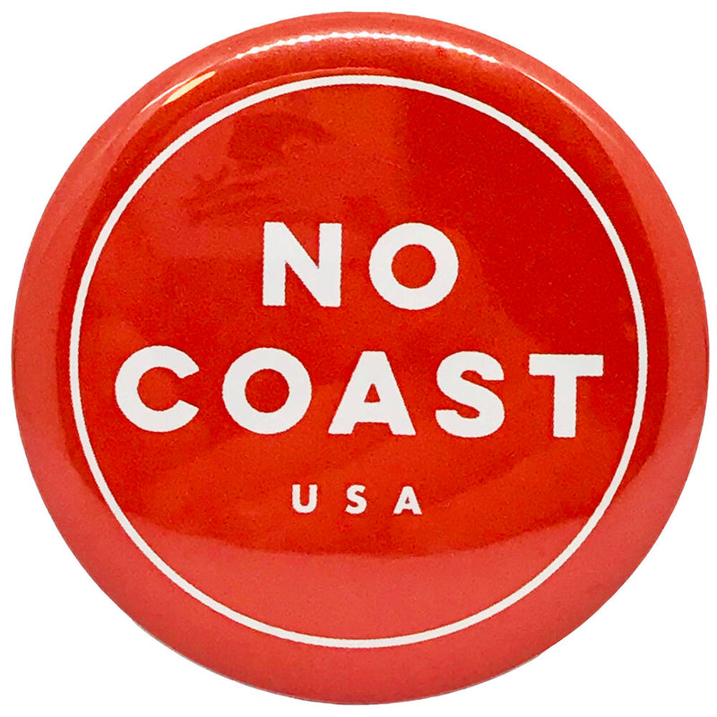 No Coast Red Magnet