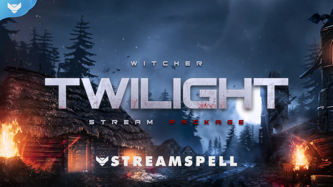 Pacote de Stream Witcher: Twilight