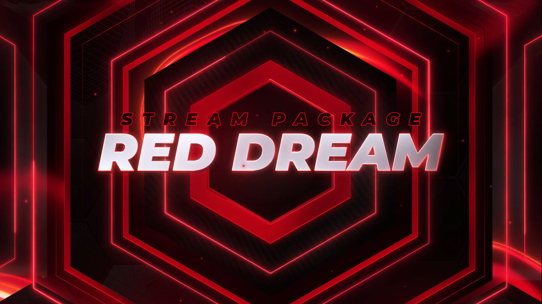 Pacote de Stream Red Dream
