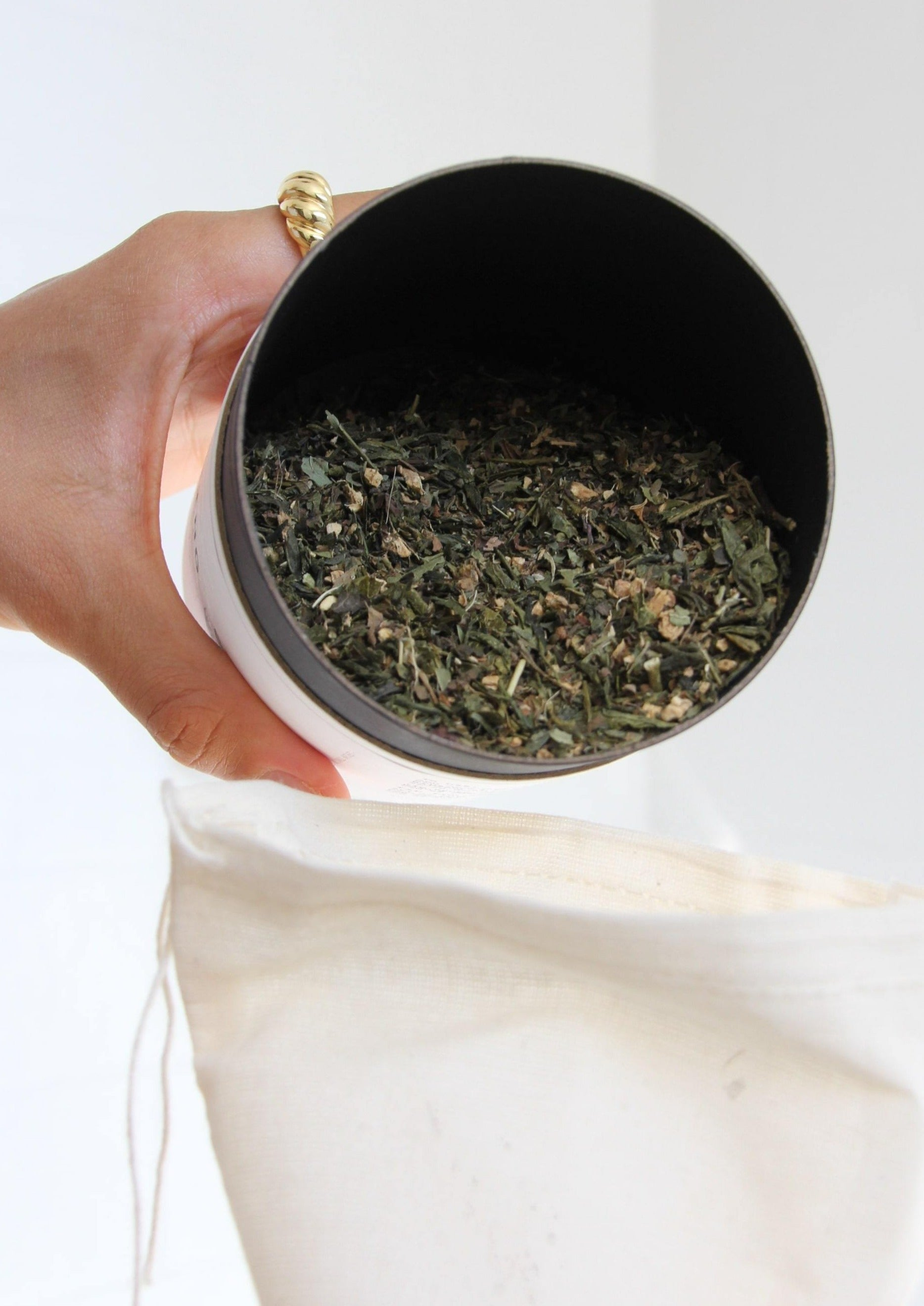 FOR BALANCING | Organic Herbal Bath Tea