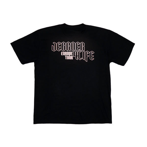 Jebroer 4life Europe Tour shirt