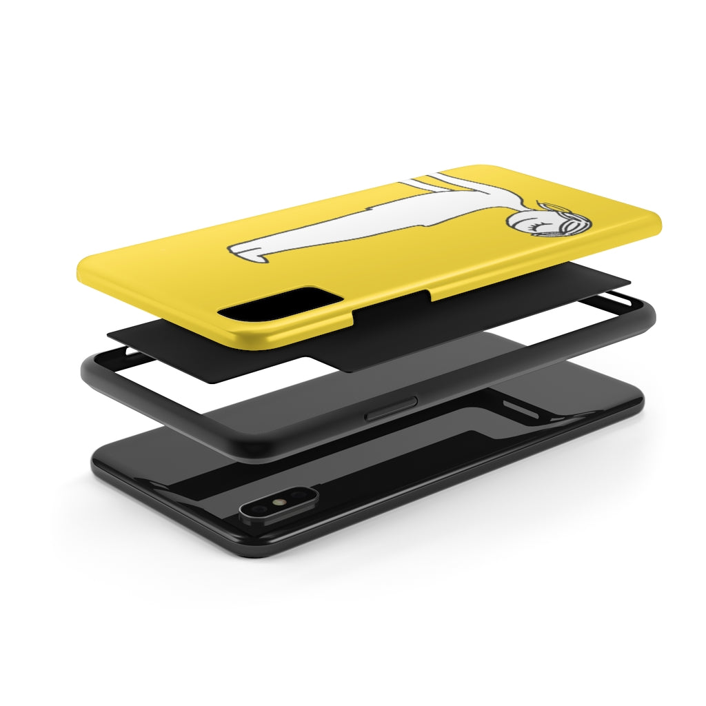 Remember to Smile Phone Case (Yellow)
