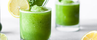 Lemon Lime Basil-Ade Slushy