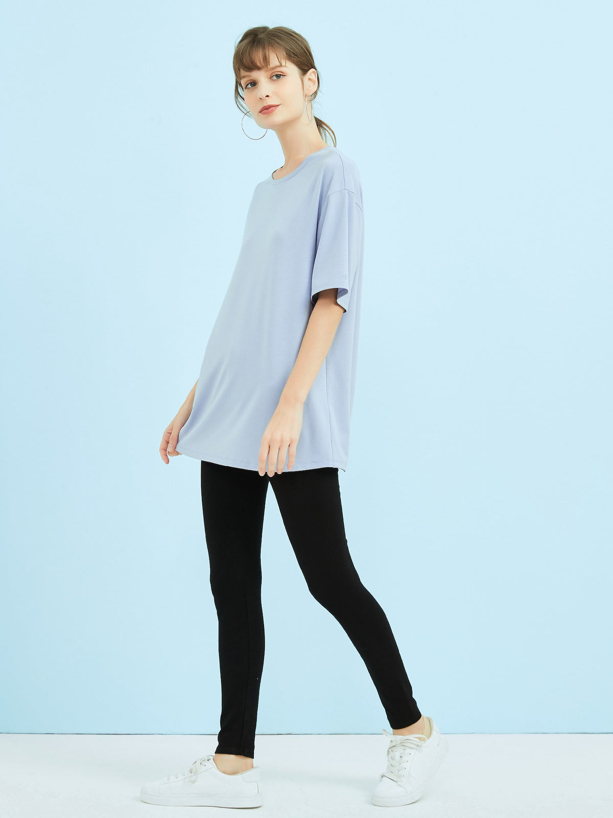 Simply Soft* OSZ Tee - Dolphin Blue
