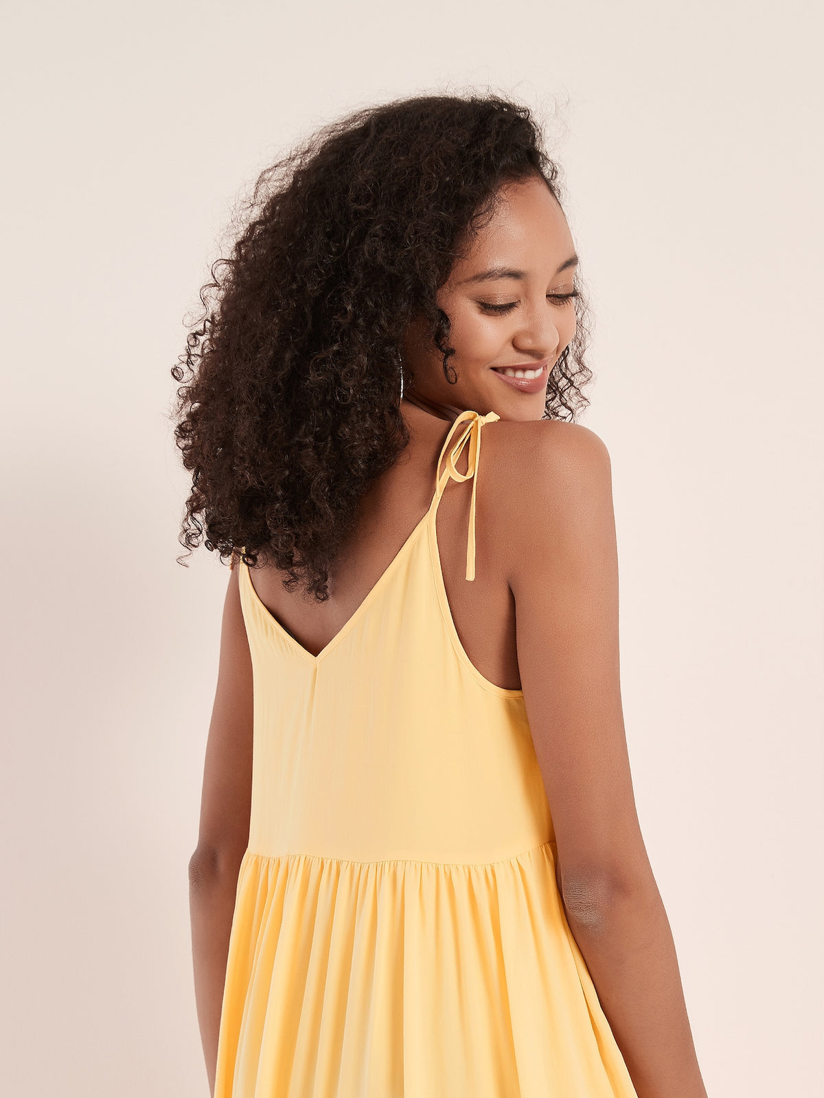 Sunflower Dress - Sunshine Yellow