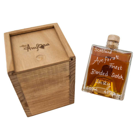 Amfora's Finest Blended Scotch Whisky Box Set 500mL 40%