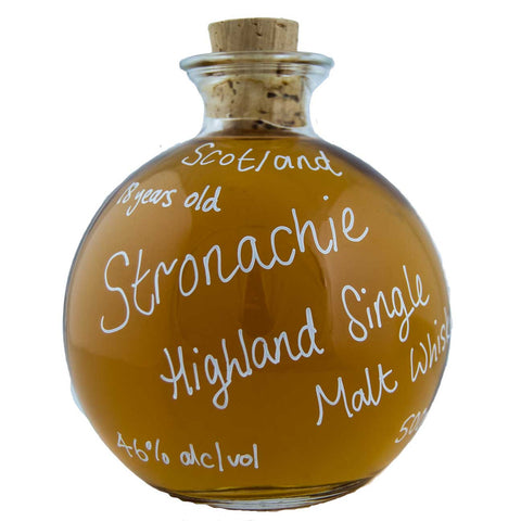 Stronachie 18 yr old Single Malt Whisky, 46%