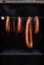 Load image into Gallery viewer, Hot Smoked Middlewhite & Bacon Sausage