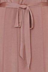 Enza Blush Slinky Maxi Duster Jacket