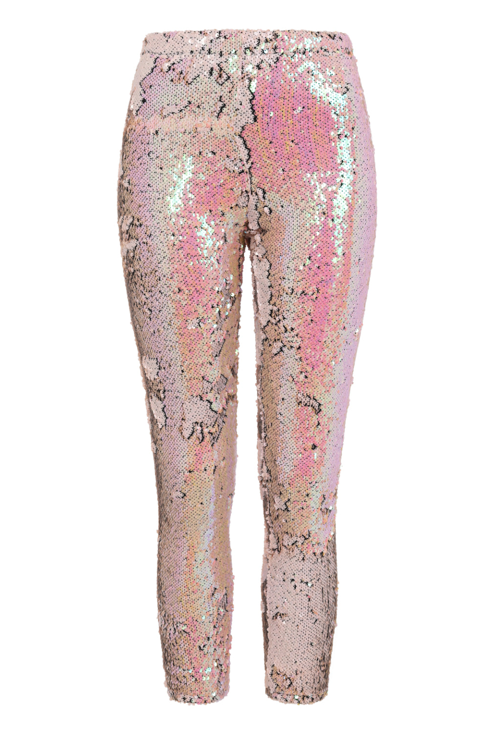 Koko Holographic Sequin Embellished Stretch Leggings