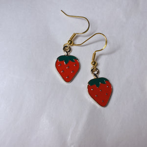 Strawberries Earrings