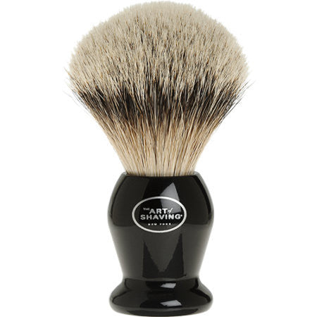 THE ART OF SHAVING Silvertip Badger Brush - Black