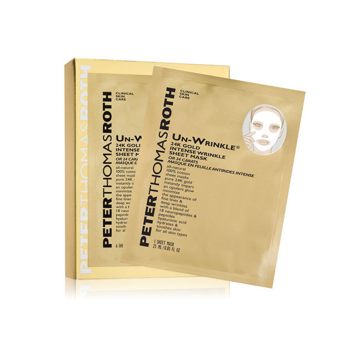 UN-WRINKLE® 24K GOLD INTENSE WRINKLE SHEET MASK