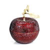 D.L. & Co. Red Poison Apple Candle with Crystallized Swarovski™ Elements
