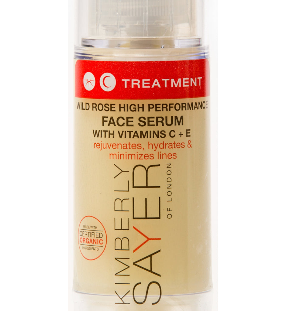 WILD ROSE HIGH PERFORMANCE FACE SERUM WITH VITAMIN C + E