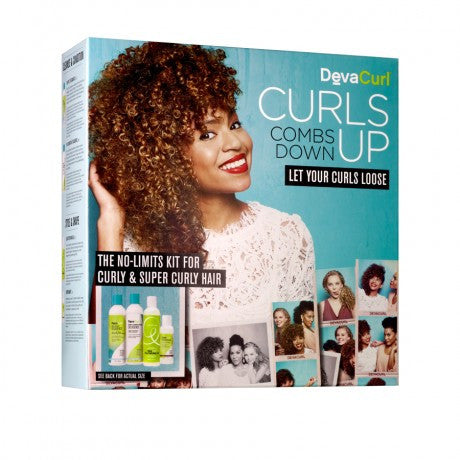 DevaCurl  Curls Up Combs Down Curly and Super Curly Kit