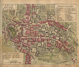 A plan of the City of Oxford